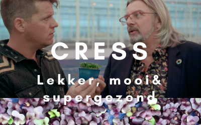 Kees Tol en Rob Baan over cress